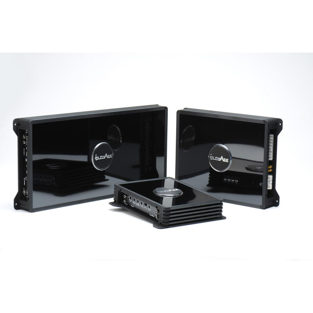 Monoblock / Digital (Class D) Amplifiers In Phase Car Audio IPA2001D 2