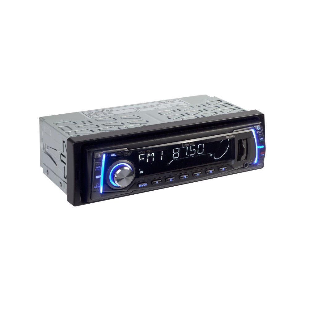 Mechless Car Stereo In Phase Car Audio IPS212BT