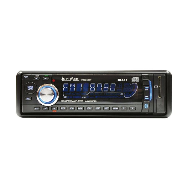 CD/MP3 Player In Phase IPS248BT B-Stock