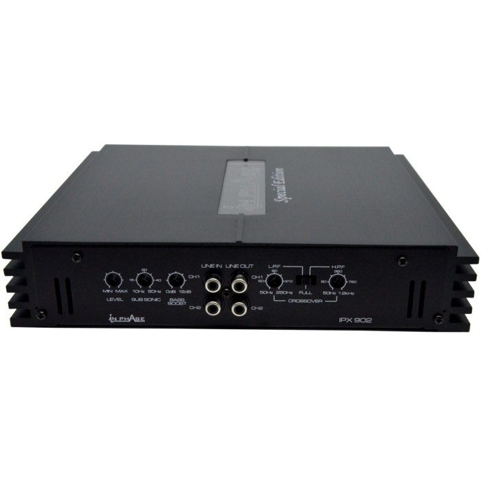 2 Channel Amplifiers In Phase IPX-902 2