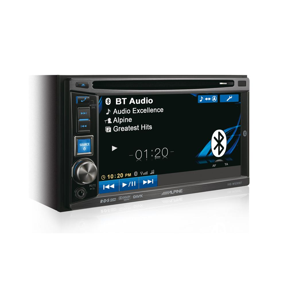 Double din screen Alpine IVE-W530BT