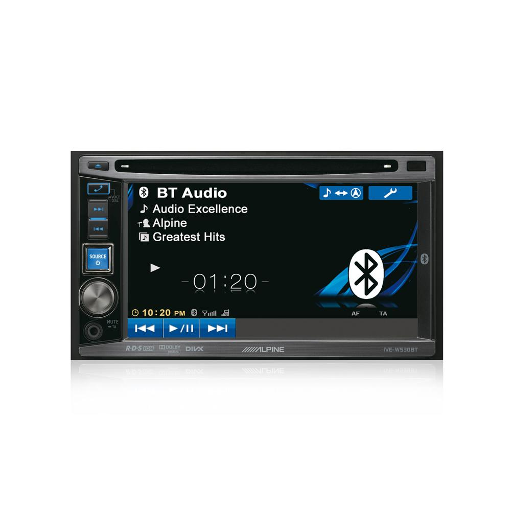 Double din screen Alpine IVE-W530BT 1