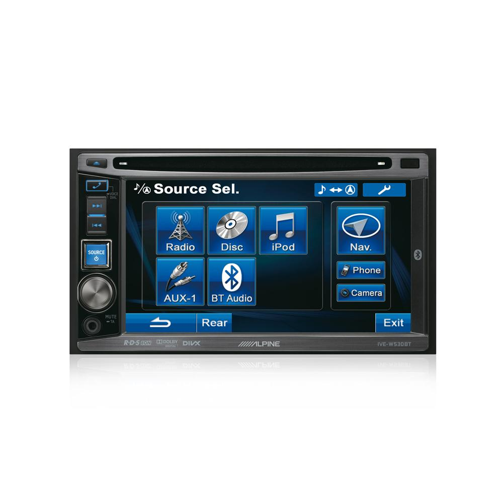 Double din screen Alpine IVE-W530BT 2