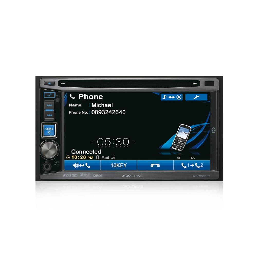 Double din screen Alpine IVE-W530BT 3