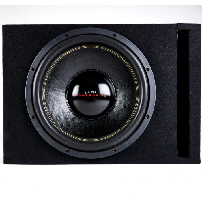 Sub and Amp Packages In Phase Car Audio PowerDrive12+BX12PL+IPA2001D+JWTRU21 1