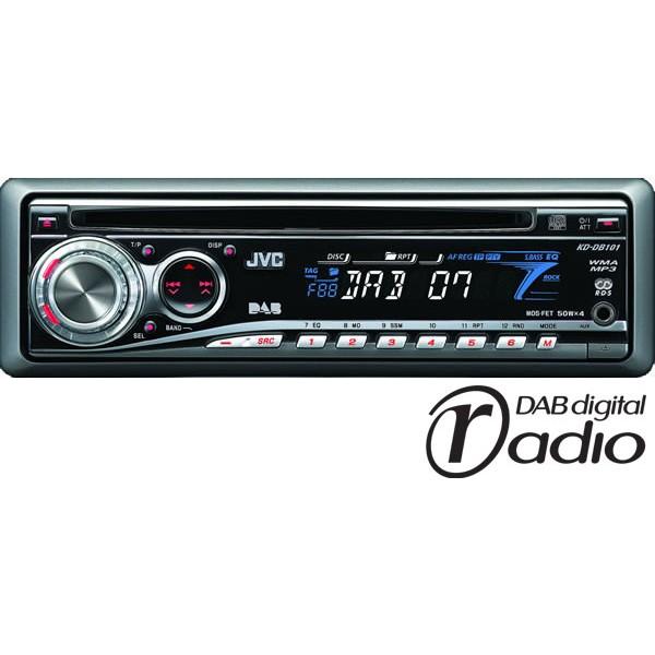 JVC KD-DB101 CD / MP3 Player, DAB Radio
