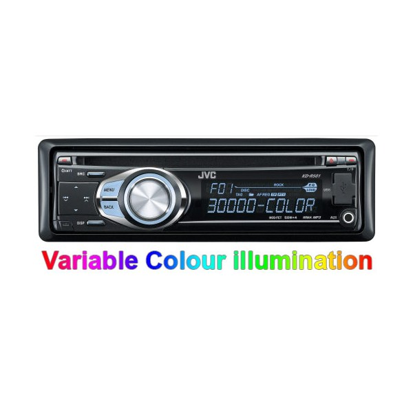 JVC KD-R501 CD / MP3 Car Stereo. USB, Aux Input