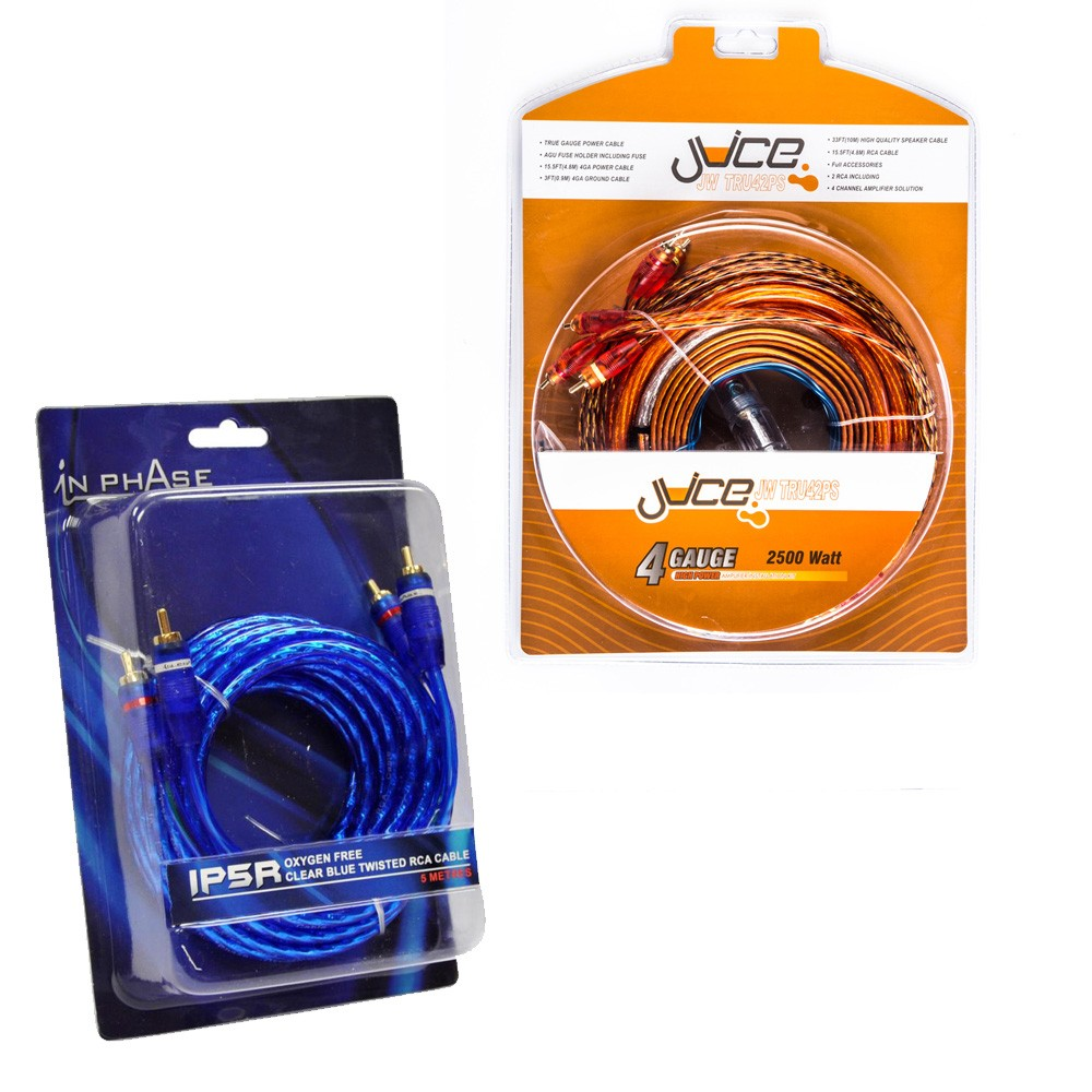 Amplifier and Wiring Kits Juice Car Audio JWTRU42PS  IP5T