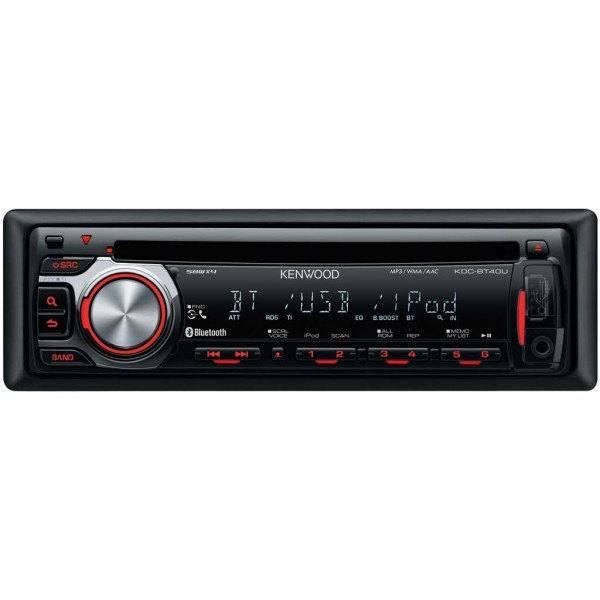 kenwood kdc bt40u cd usb bluetooth rds car radio kdc bt40u from rh caraudiocentre co uk Kenwood Car DVD Player Kenwood KDC