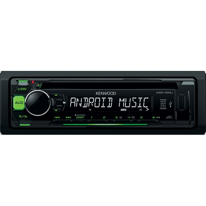 CD/MP3 Player Kenwood Car Audio KDC-100UG 1