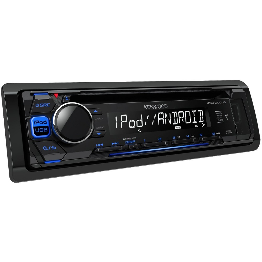 Kenwood CD MP3 Player with Front USB AUX In Scenic car stereo radio