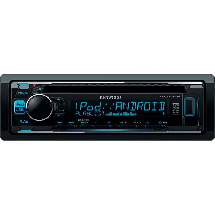 Made for iPod/iPhone Kenwood KDC300UV 1
