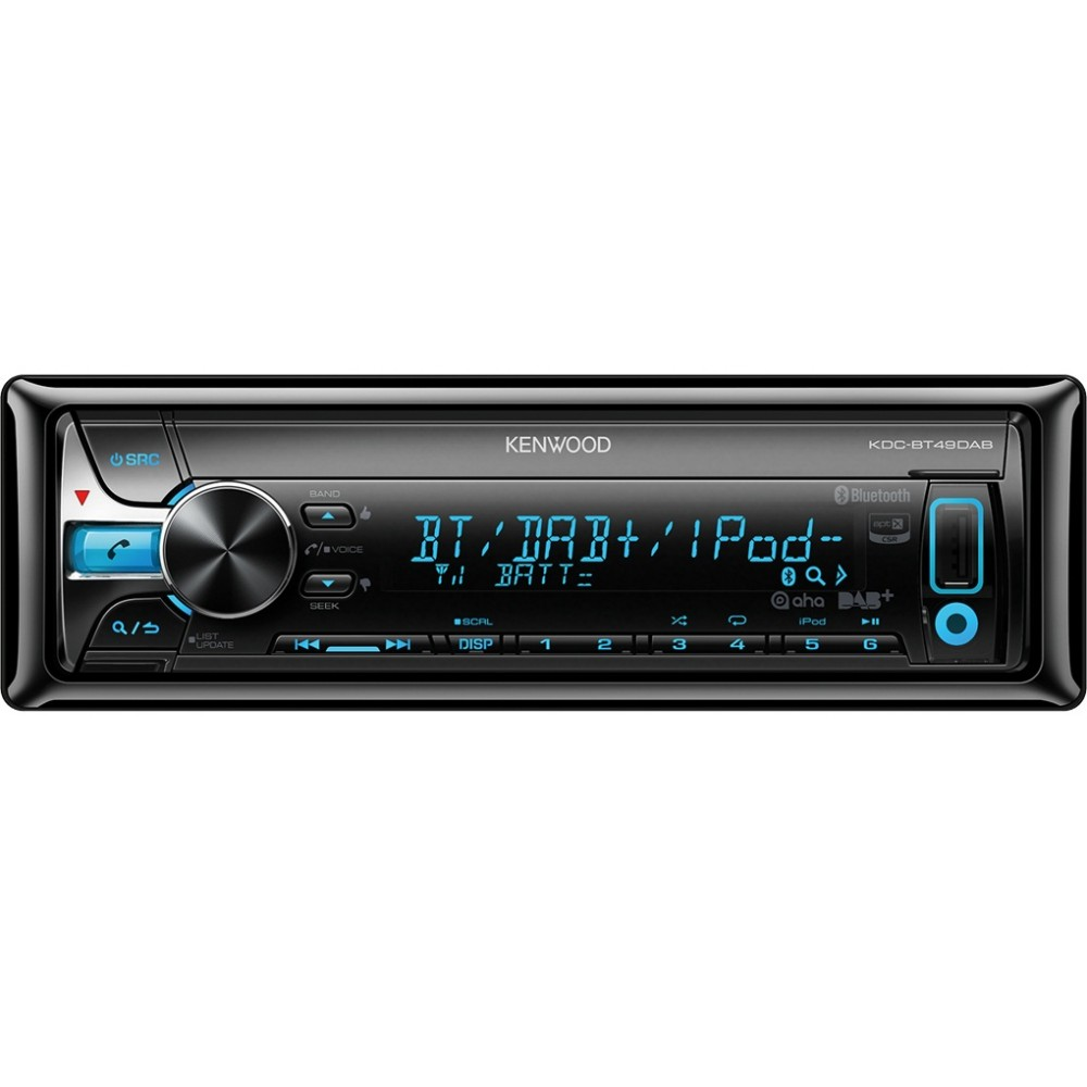Made for iPod/iPhone Kenwood KDC-BT49DAB