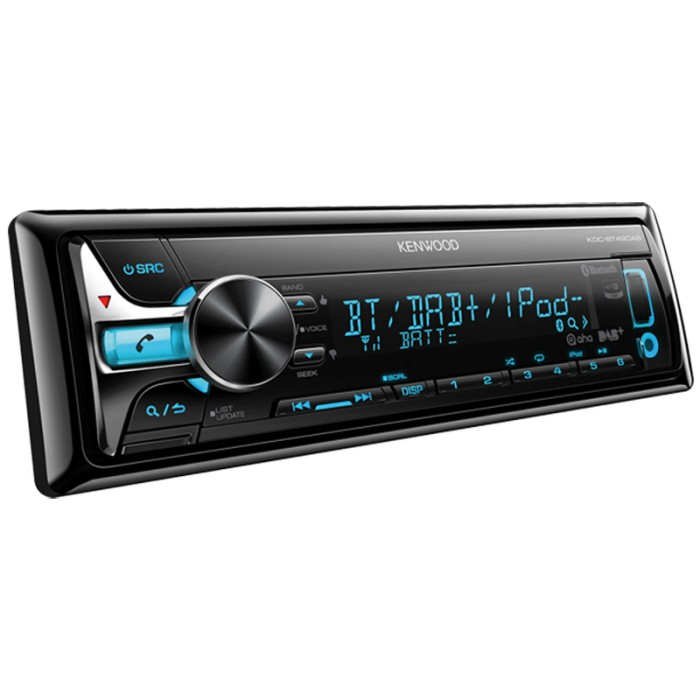 Made for iPod/iPhone Kenwood KDC-BT49DAB 1