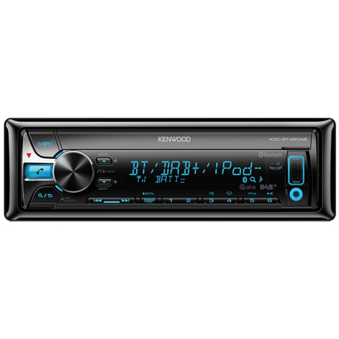 Made for iPod/iPhone Kenwood KDC-BT49DAB 2