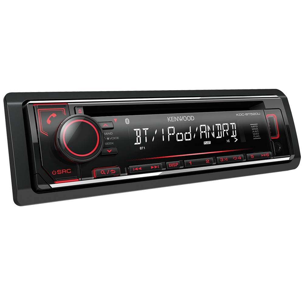 kenwood kdcbt510u cd car stereo with bluetooth usb. Black Bedroom Furniture Sets. Home Design Ideas