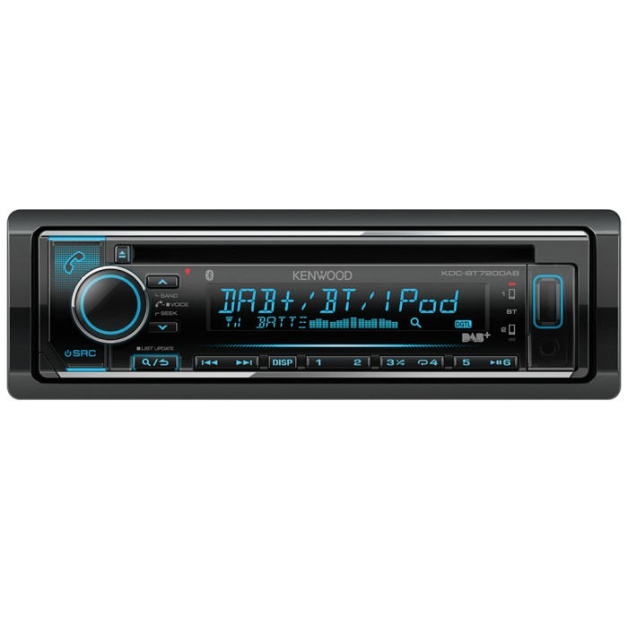 DAB Car Radio Kenwood Car Audio KDC-BT720DAB 1