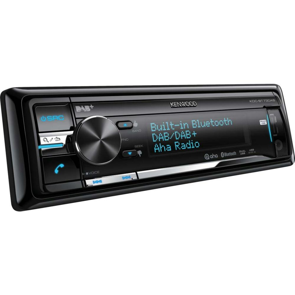 iPhone Compatible Kenwood Car Audio KDC-BT73DAB 2