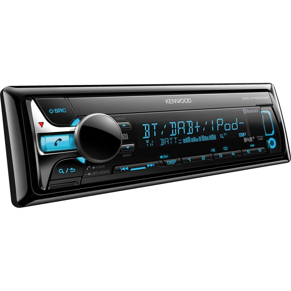 Made for iPod/iPhone Kenwood KDCX7000DAB