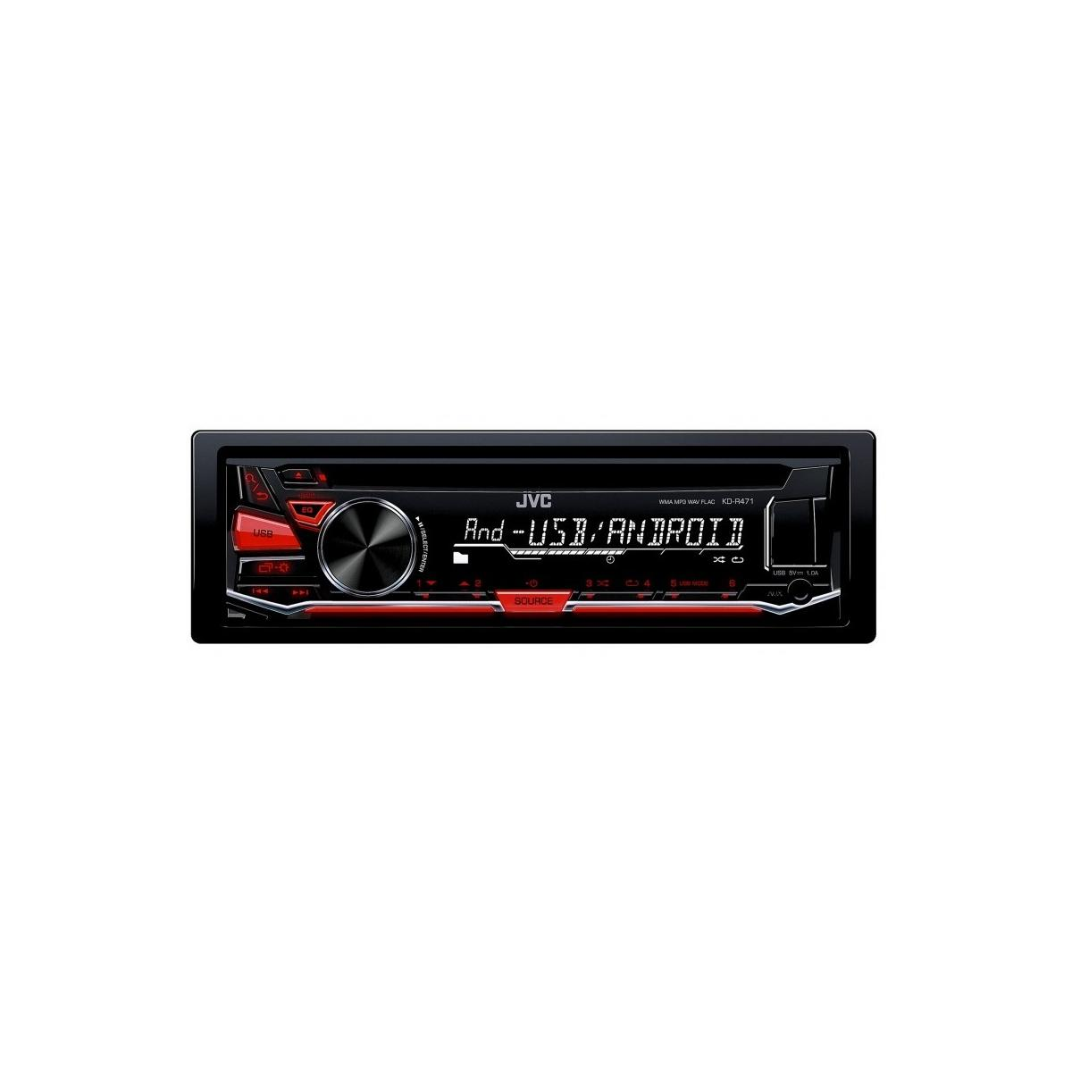KDR471 kd r461 cd mp3 car stereo front usb aux input jvc kd-r311 wiring diagram at webbmarketing.co