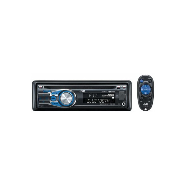 jvc kd r711 cd mp3 radio tuner reciever front aux input. Black Bedroom Furniture Sets. Home Design Ideas