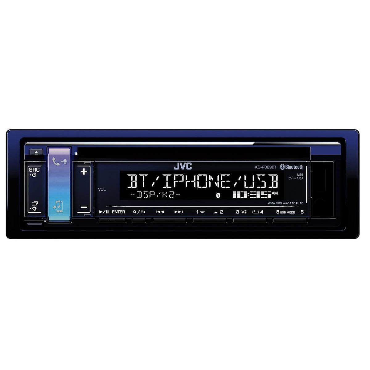 iPhone Compatible JVC KD-R889BT
