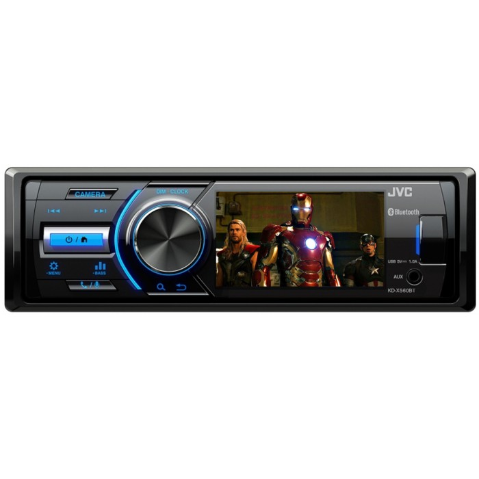 iPhone Compatible JVC KD-X560BT 3