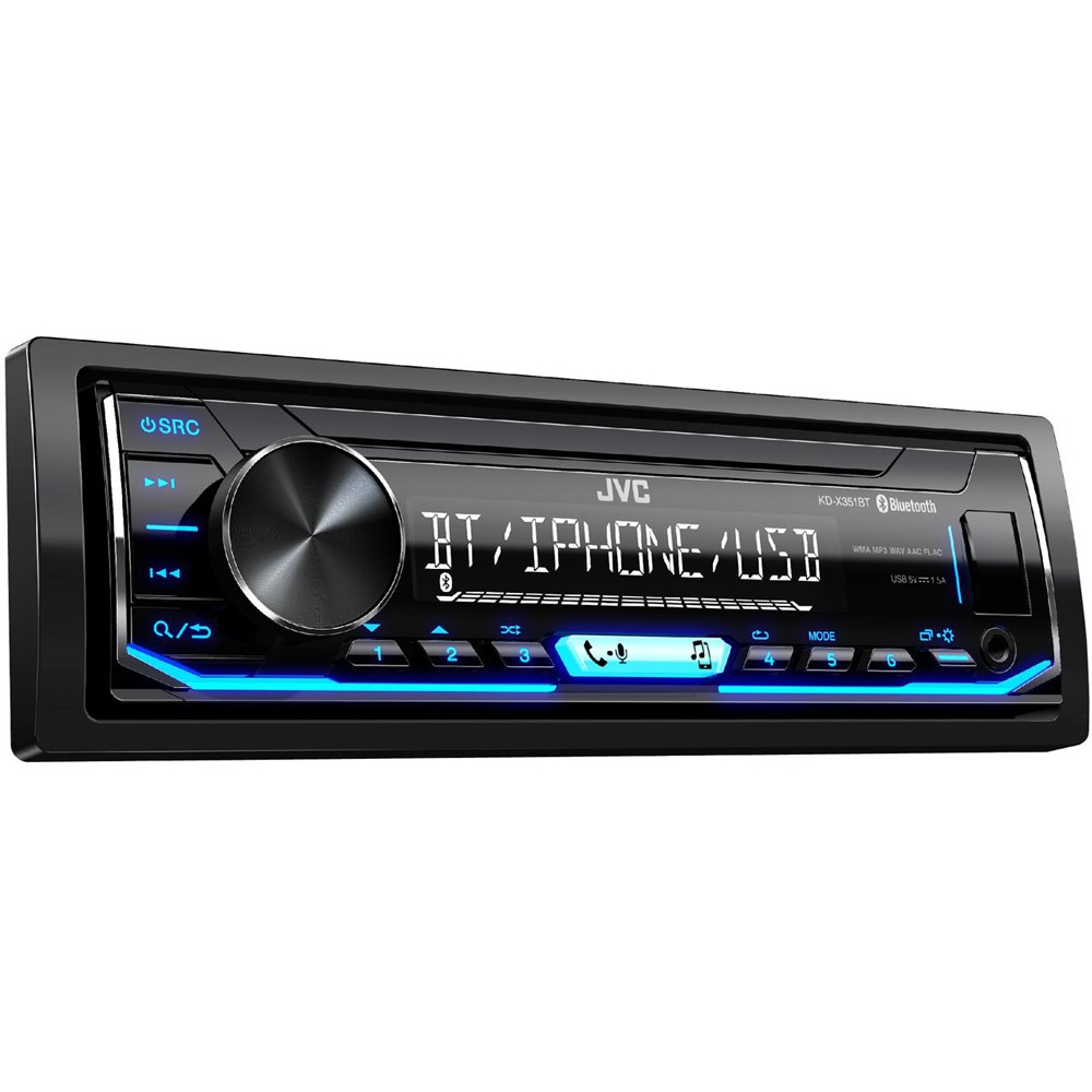 Mechless Car Stereo JVC KD-X351BT