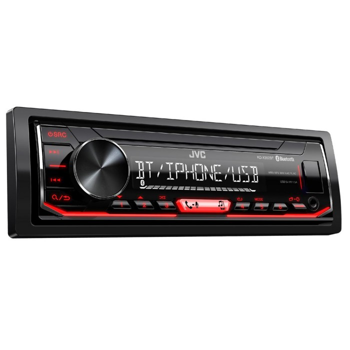 Mechless Car Stereo JVC KD-X352BT 1