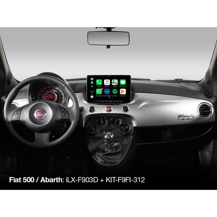 Stereo Fitting Alpine Car Audio Systems KIT-F9FI-312I