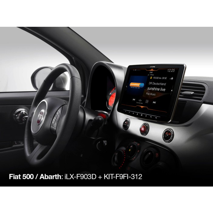 Stereo Fitting Alpine Car Audio Systems KIT-F9FI-312I 1
