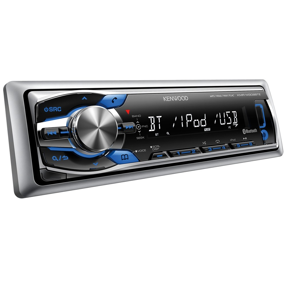Car Stereos Kenwood Car Audio KMR-M308BTE