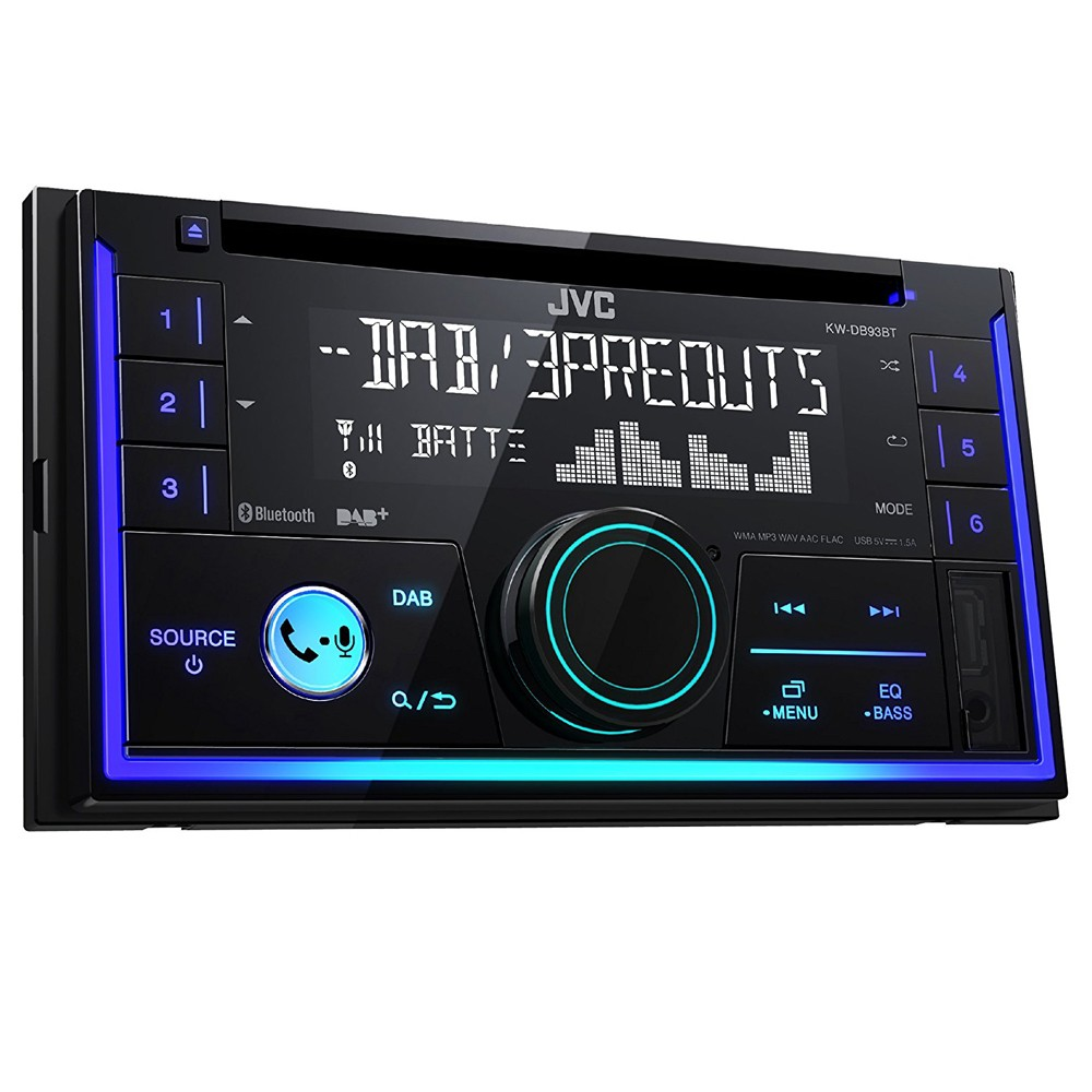 Bluetooth Compatible JVC KW-DB93BT