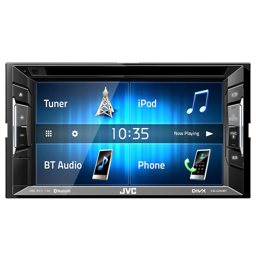 JVC KW-V235DBT Double Din AV Head Unit with built in Bluetooth and DAB