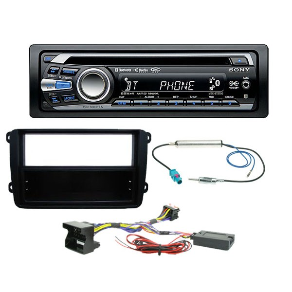 sony mex bt2700u volkswagon golf mk5 and jetta complete installation rh caraudiocentre co uk Sony MEX Bt2700 Wiring-Diagram Sony MEX Bt2900 Manual