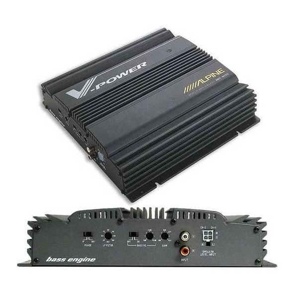 Monoblock / Digital (Class D) Amplifiers Alpine MRP-M200