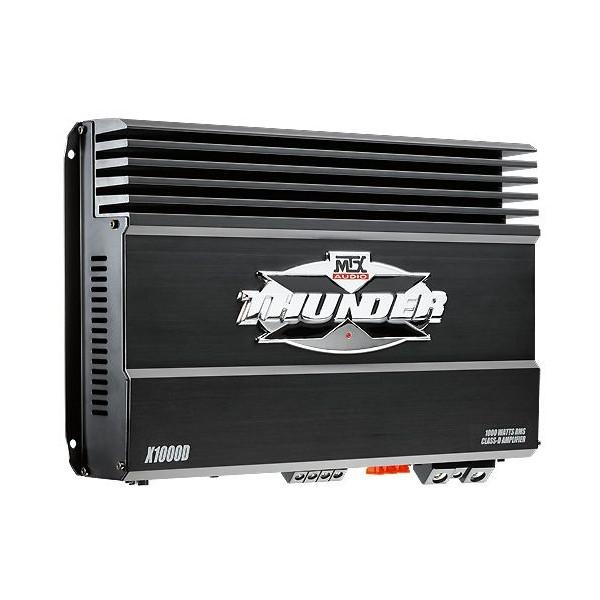 mtx x thunder x1000d 1000w mono block amplifier x1000d from mtx
