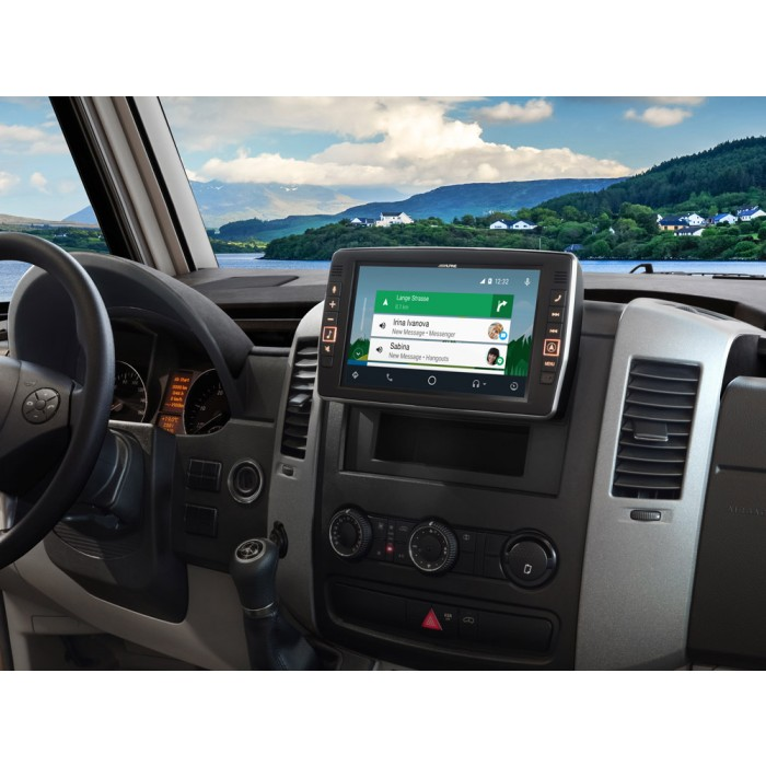 In Car Sat Nav Alpine Car Audio Systems X903D-S906 1