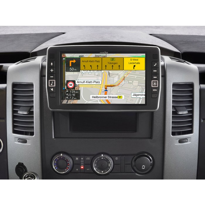 In Car Sat Nav Alpine Car Audio Systems X903D-S906 2