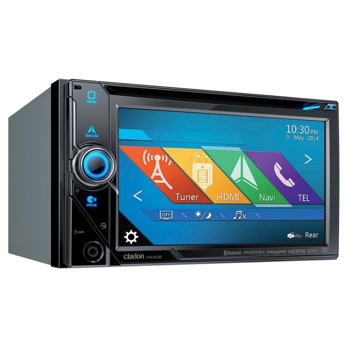 In Car Sat Nav Clarion Car Audio NX405 2