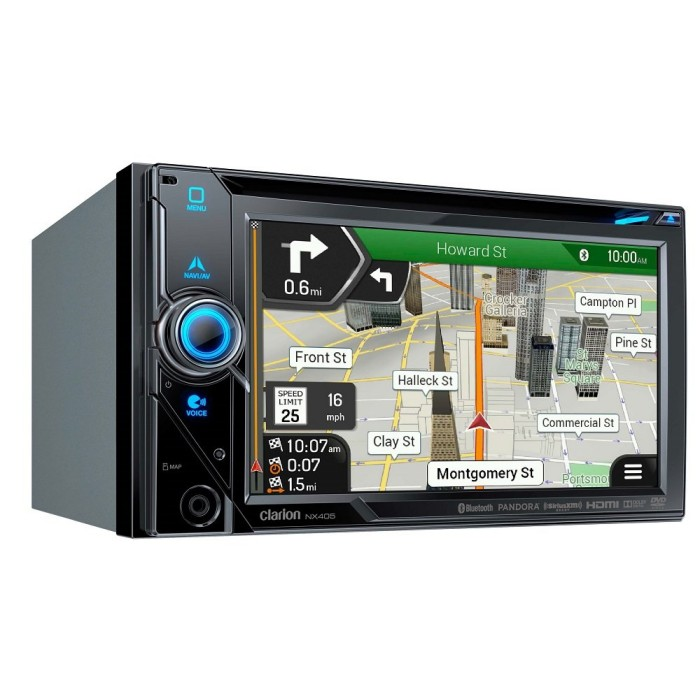 In Car Sat Nav Clarion Car Audio NX405 1