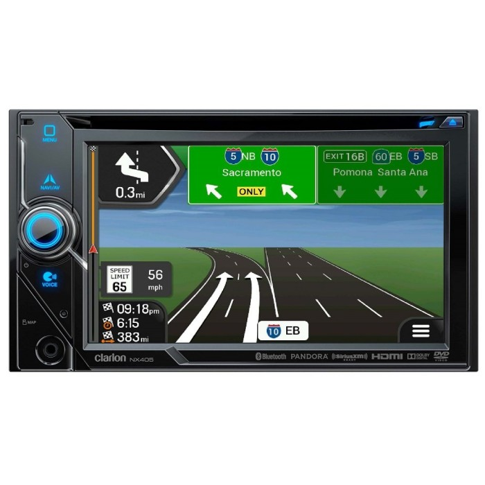 In Car Sat Nav Clarion Car Audio NX405 3
