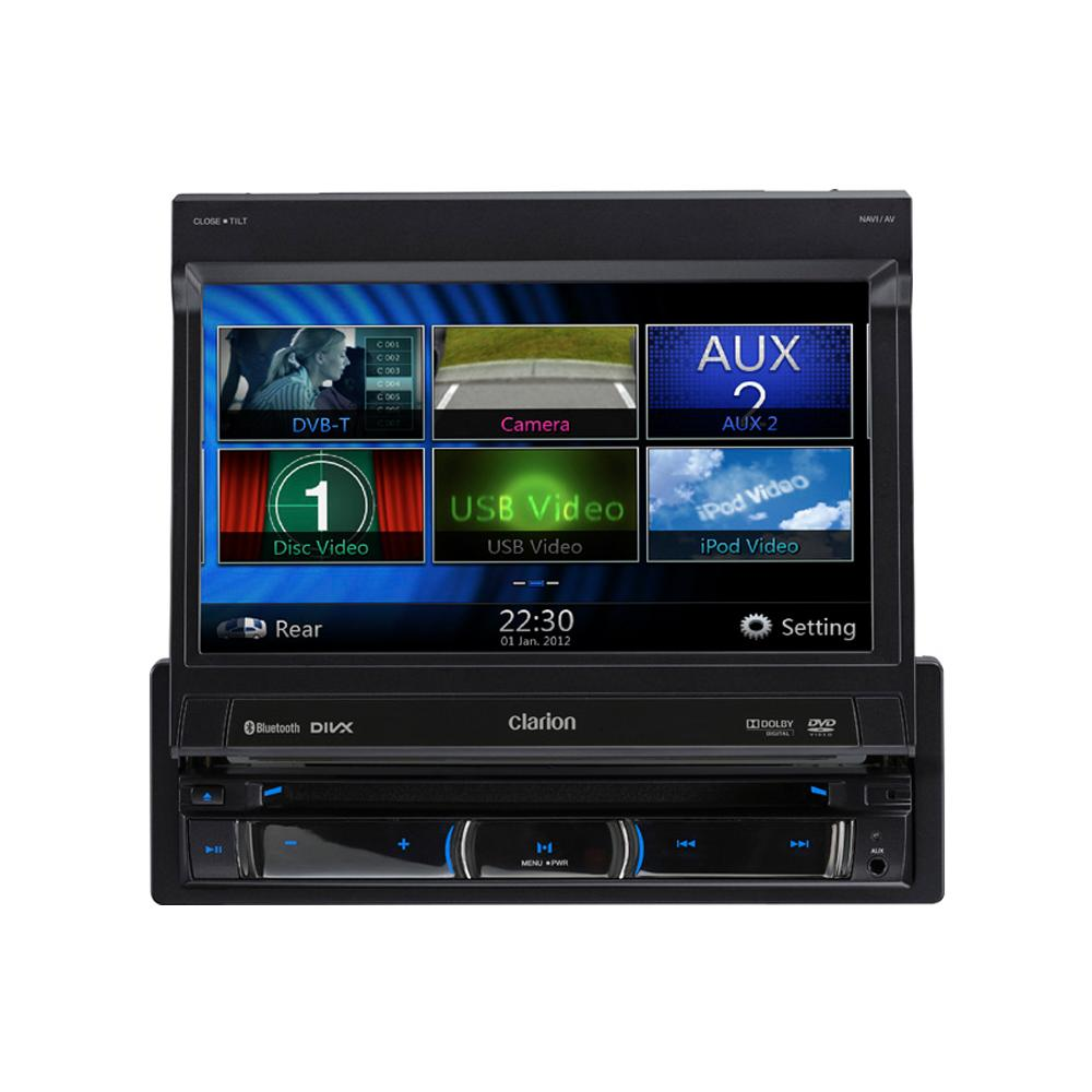 In Car Sat Nav Clarion Car Audio NZ502E 1