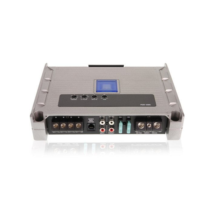 Monoblock / Digital (Class D) Amplifiers Alpine PDR-M65 2