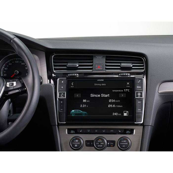 In Car Sat Nav Alpine Car Audio Systems I902D-G7 2