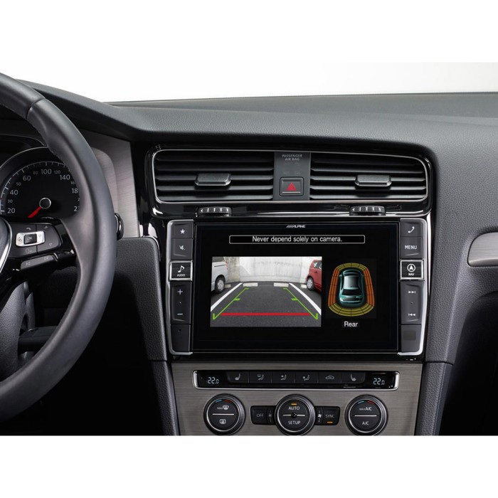 In Car Sat Nav Alpine Car Audio Systems I902D-G7 4