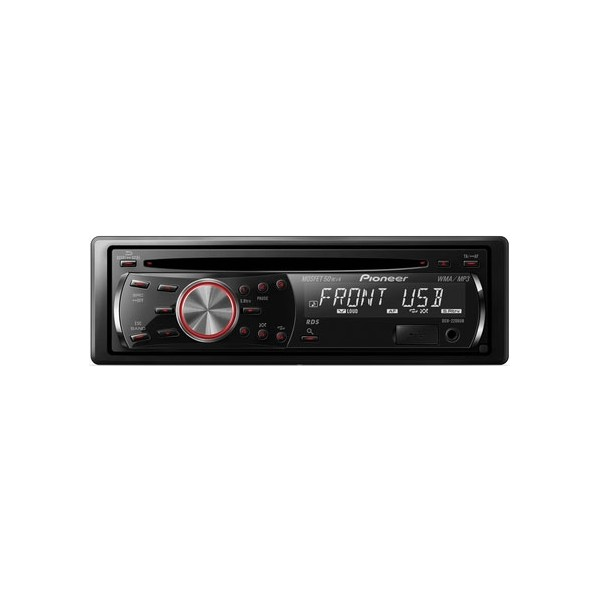 Pioneer deh 2200ub cd mp3 single din car stereo with usb aux in pioneer deh 2200ub publicscrutiny Gallery