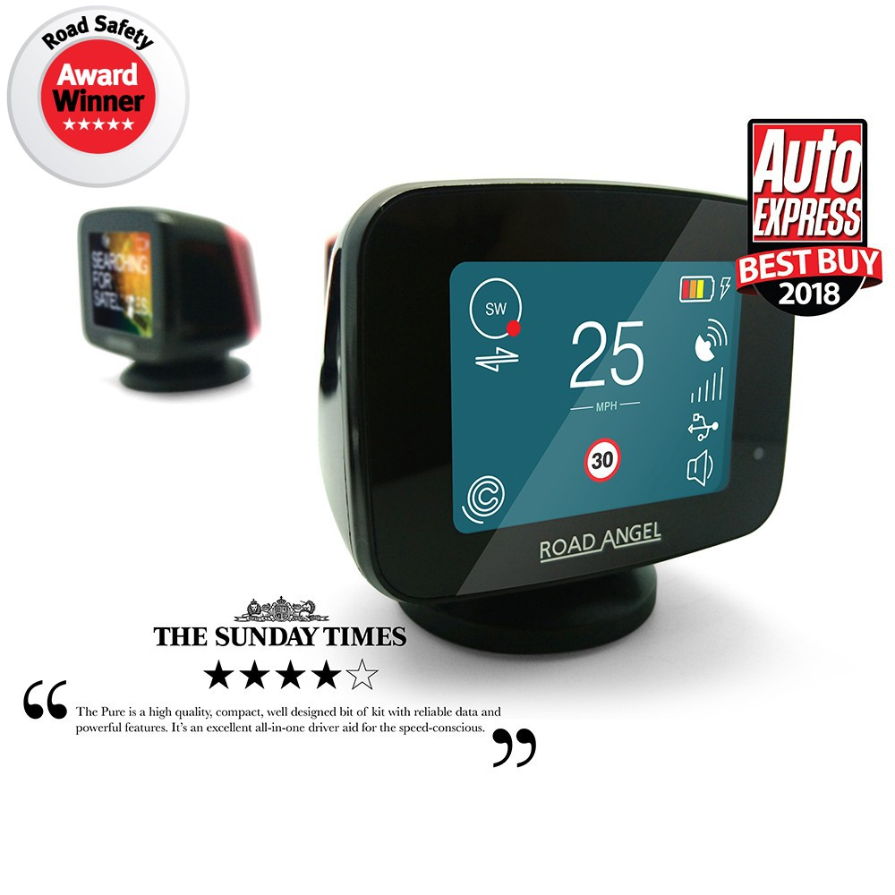 Speed Camera Detectors Road Angel Pure1