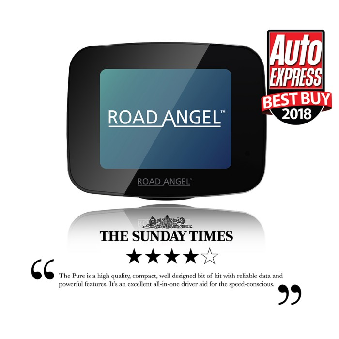 Speed Camera Detectors Road Angel Pure1 1
