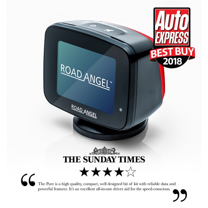 Speed Camera Detectors Road Angel Pure1 2